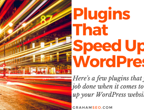 WordPress Plugins That Speed Your Website UP