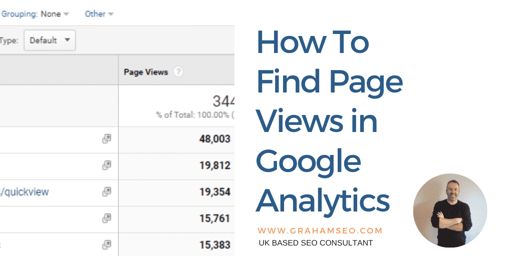 How To Find Page Views in Google Analytics - Graham SEO